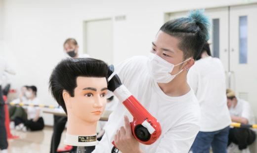 校内理容美容技術大会 ②
